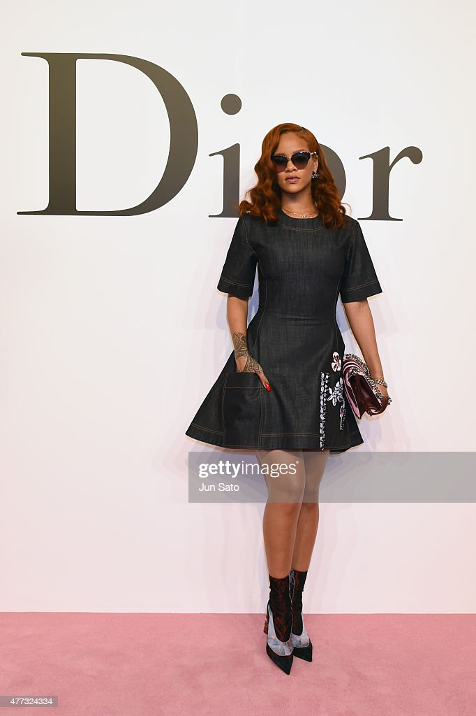 Christian Dior - Arrivals/Front Row - TOKYO Autumn/Winter 2015-16 Ready-To-Wear Show : News Photo
