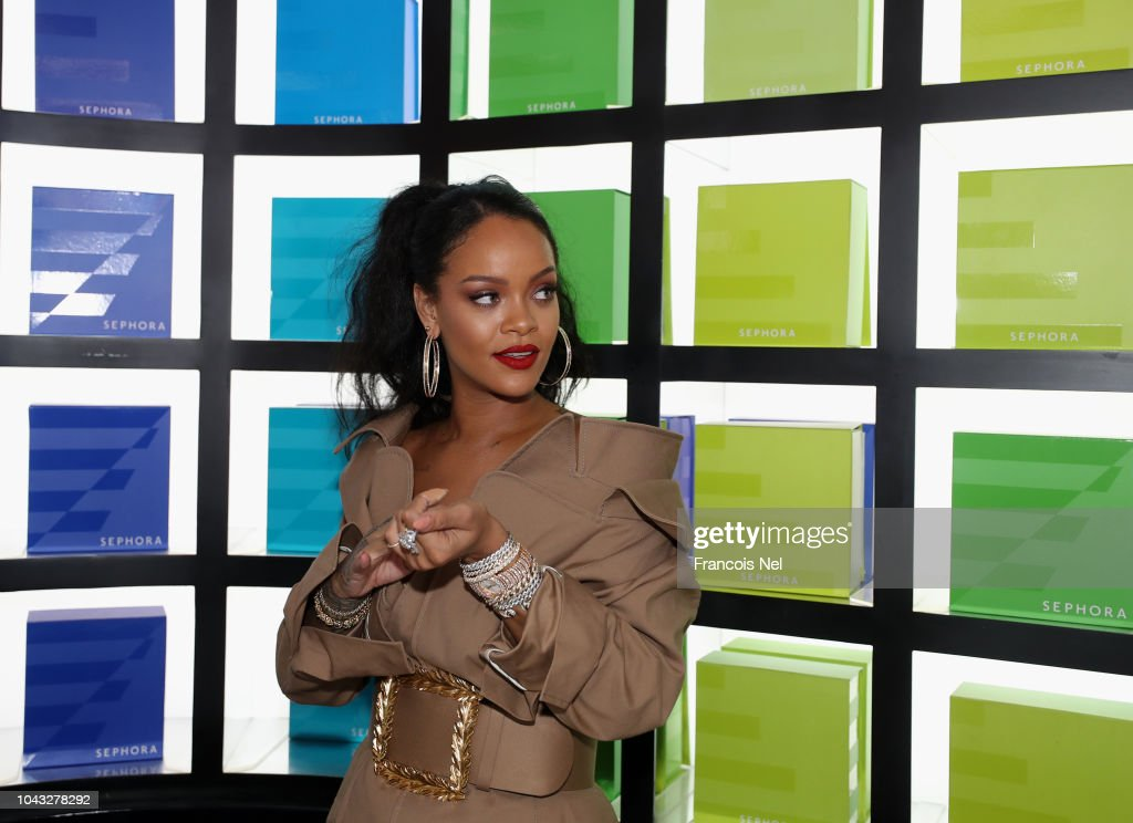 Rihanna x Sephora The Dubai Mall : News Photo