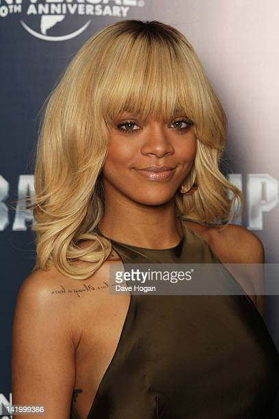 Rihanna attends a photocall for Battleship at The Corinthia Hotel on March 28 2012 in London England