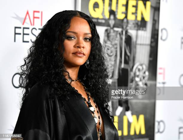 Rihanna attends AFI FEST 2019 Presented By Audi – Queen Slim Premiere at TCL Chinese Theatre on November 14 2019 in Hollywood California