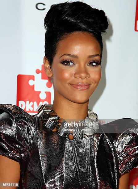 Rihanna attends DKMS' 3rd Annual StarStudded Gala at Cipriani 42nd Street on May 7 2009 in New York City