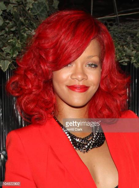 Rihanna attends Drake's after party at Greenhouse on September 28 2010 in New York City