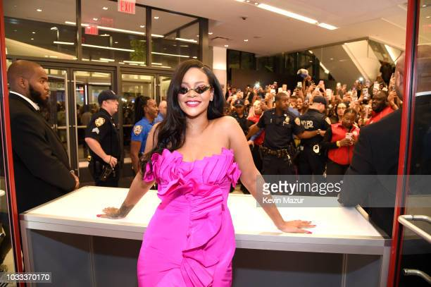 Rihanna attends Fenty Beauty's 1-year anniversary at Sephora inside JCPenney on September 14, 2018 in Brooklyn, New York.