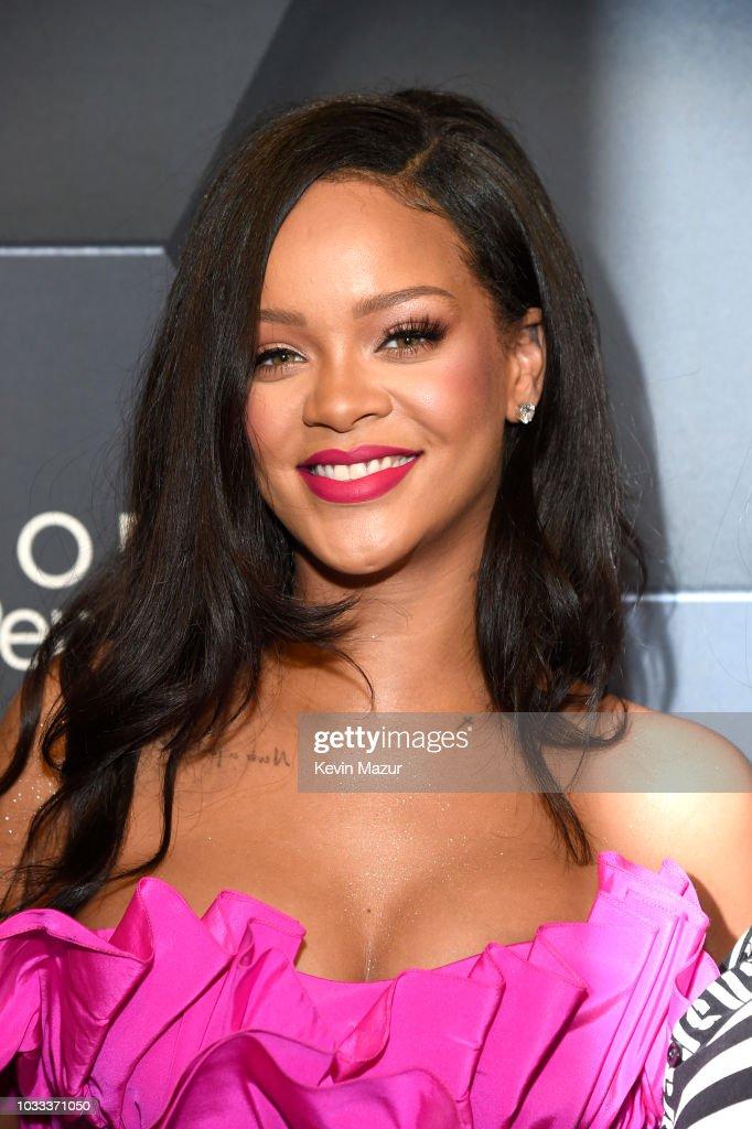 Rihanna Celebrates Fenty Beauty's 1-Year Anniversary At Sephora Inside JCPenney : News Photo