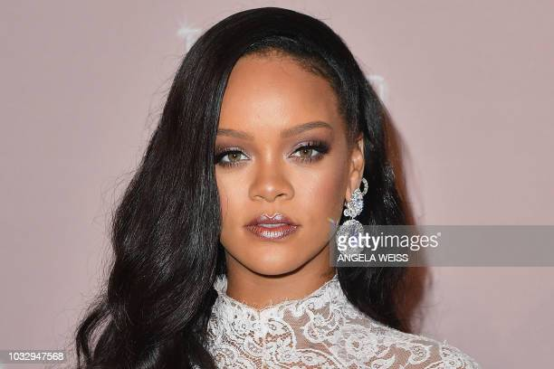 Rihanna attends her 4th Annual Diamond Ball at Cipriani Wall Street on September 13 2018 in New York City