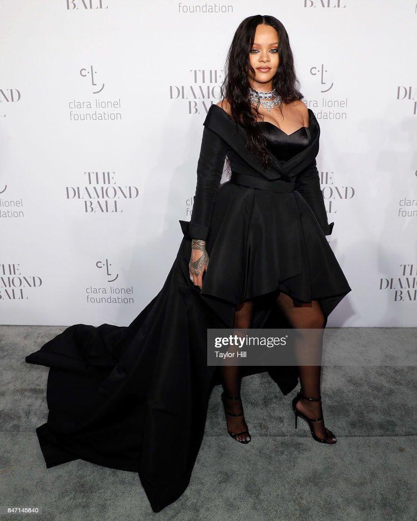 Rihanna's 3rd Annual Diamond Ball : News Photo