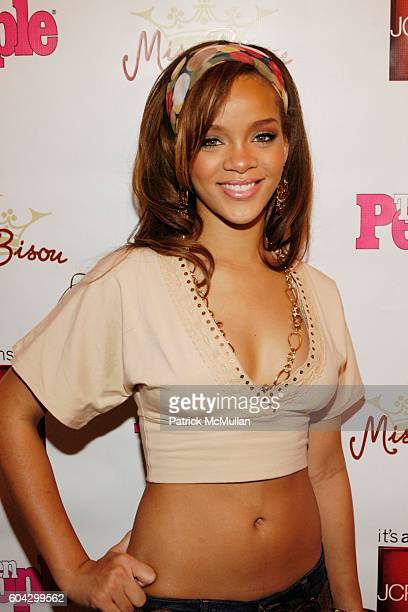 Rihanna attends JCPenney Teen People Host Miss Bisou Fashion Launch at The JCPenney Experience on March 18 2006 in New York City