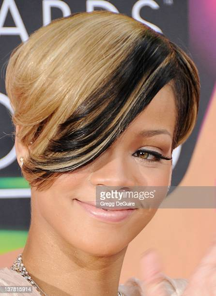 Rihanna attends Nickelodeon's 23rd Annual Kids' Choice Awards held at Pauley Pavilion at UCLA on March 27, 2010 in Los Angeles, California.