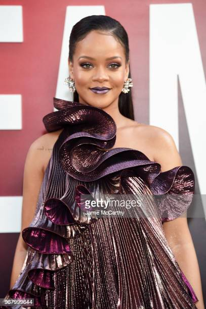 """Rihanna attends """"Ocean's 8"""" World Premiere at Alice Tully Hall on June 5, 2018 in New York City."""