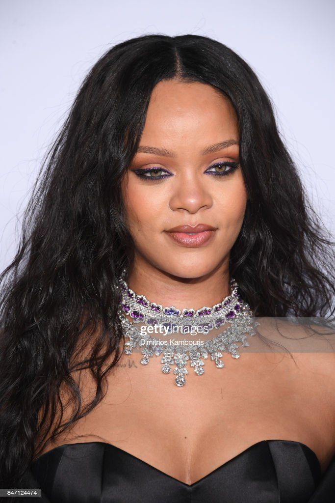 Rihanna attends Rihanna's 3rd Annual Diamond Ball Benefitting The Clara Lionel Foundation at Cipriani Wall Street on September 14, 2017 in New York City.