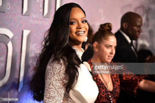 Rihanna attends Rihanna's 4th Annual Diamond Ball at Cipriani Wall Street on September 13 2018 in New York City