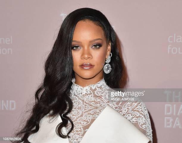 Rihanna attends Rihanna's 4th Annual Diamond Ball at Cipriani Wall Street on September 13 2018 in New York City