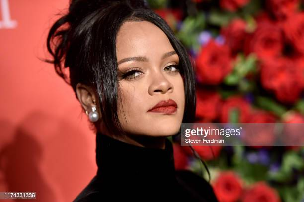 Rihanna attends Rihanna's 5th Annual Diamond Ball at Cipriani Wall Street on September 12 2019 in New York City