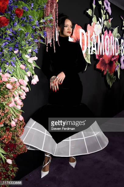 Rihanna attends Rihanna's 5th Annual Diamond Ball at Cipriani Wall Street on September 12, 2019 in New York City.