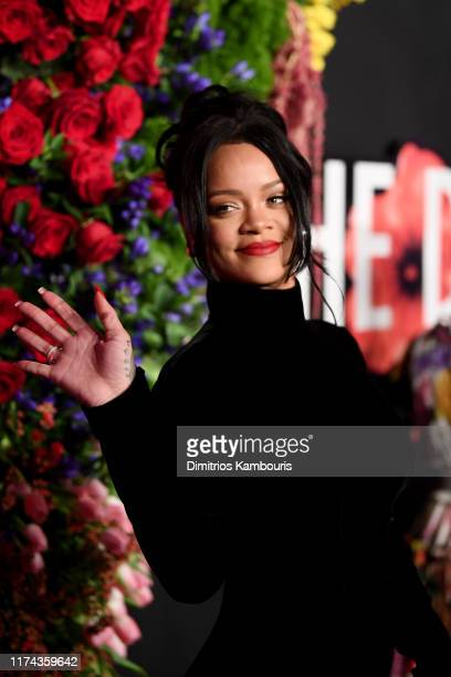 Rihanna attends Rihanna's 5th Annual Diamond Ball Benefitting The Clara Lionel Foundation at Cipriani Wall Street on September 12, 2019 in New York...