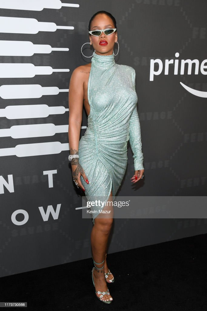 Savage X Fenty Show Presented By Amazon Prime Video - Arrivals : News Photo