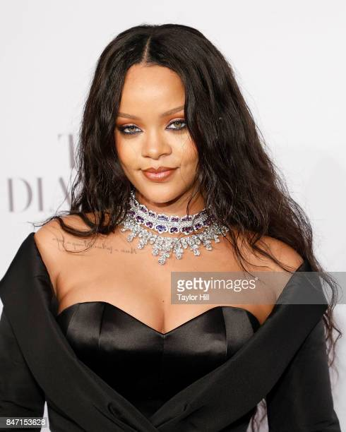 Rihanna attends the 2017 Diamond Ball at Cipriani Wall Street on September 14 2017 in New York City