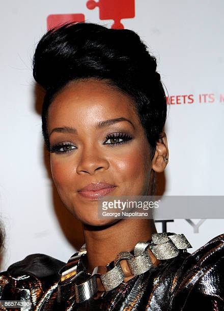 Rihanna attends the 3rd Annual DKMS Gala at Cipriani 42nd Street on May 7 2009 in New York City