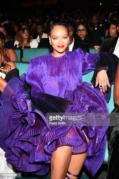 Rihanna attends the 51st NAACP Image Awards Presented by BET at Pasadena Civic Auditorium on February 22 2020 in Pasadena California
