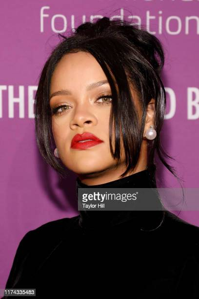 Rihanna attends the 5th Annual Diamond Ball benefiting the Clara Lionel Foundation at Cipriani Wall Street on September 12, 2019 in New York City.
