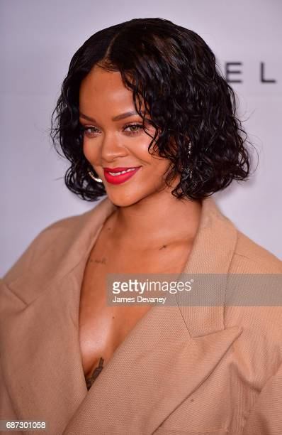 Rihanna attends the 69th Annual Parsons Benefit at Pier Sixty at Chelsea Piers on May 22, 2017 in New York City.