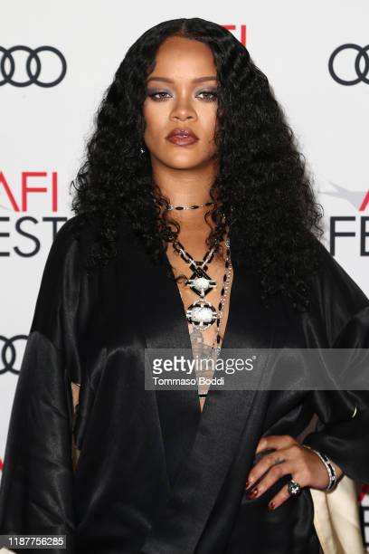 Rihanna attends the AFI FEST 2019 Presented By Audi premiere of Queen Slim at TCL Chinese Theatre on November 14 2019 in Hollywood California