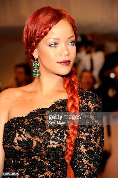Rihanna attends the Alexander McQueen Savage Beauty Costume Institute Gala at The Metropolitan Museum of Art on May 2 2011 in New York City