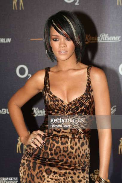 Rihanna attends the Bambi Awards in Dsseldorf on 29th November 2007