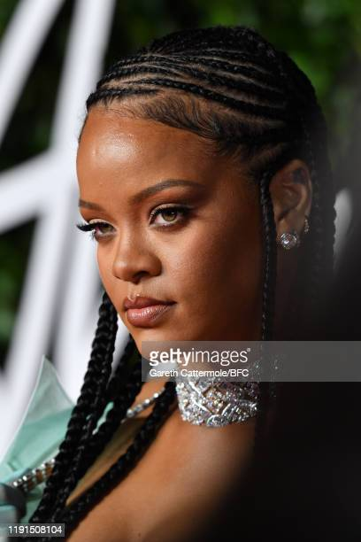 Rihanna attends The Fashion Awards 2019 held at Royal Albert Hall on December 02 2019 in London England