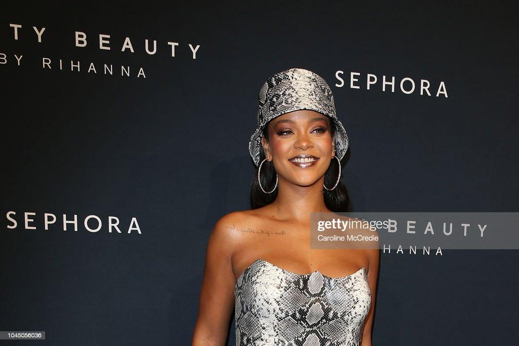 Fenty Beauty By Rihanna Anniversary Event : News Photo