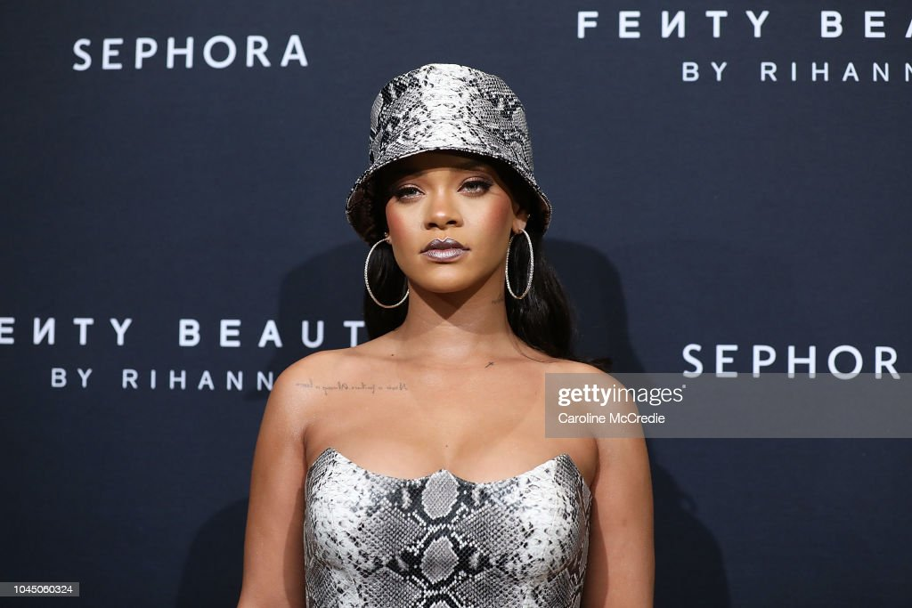 Fenty Beauty By Rihanna Anniversary Event : News Photo