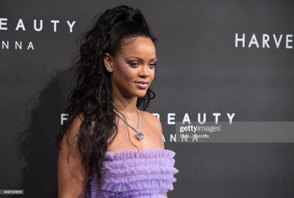 'FENTY Beauty' By Rihanna - Red Carpet Arrivals : News Photo