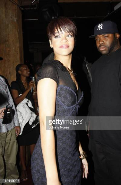 Rihanna attends the 'Good Girl Gone Bad' screening party on June 17 2008 at Guesthouse in New York