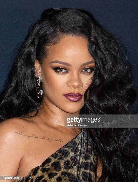 """Rihanna attends the launch of her visual autobiography """"Rihanna"""" at Guggenheim Museum on October 11, 2019 in New York City."""
