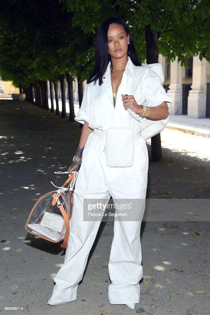 Louis Vuitton: Front Row - Paris Fashion Week - Menswear Spring/Summer 2019 : ニュース写真