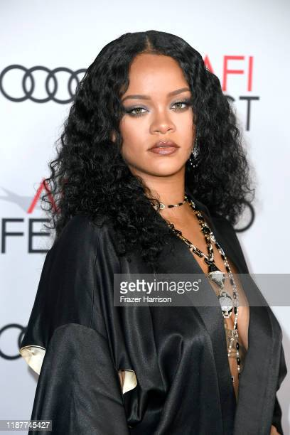 """Rihanna attends the """"Queen & Slim"""" Premiere at AFI FEST 2019 presented by Audi at the TCL Chinese Theatre on November 14, 2019 in Hollywood,..."""