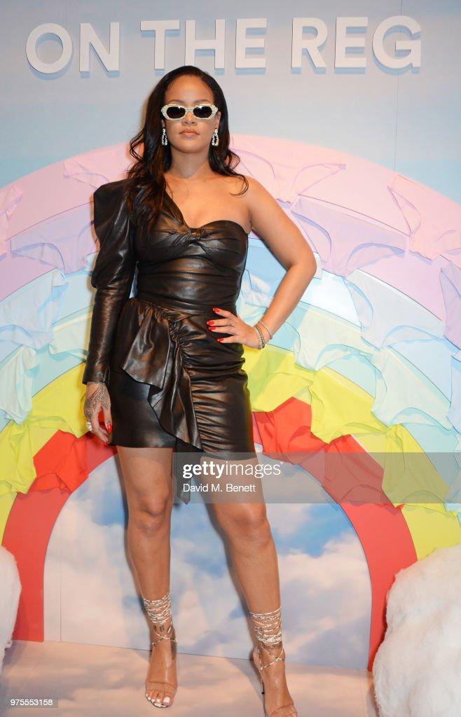 Rihanna Attends Savage X Fenty London Pop Up Shop : News Photo