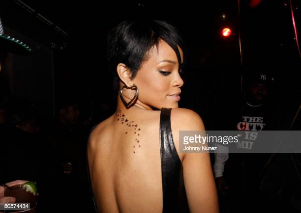 Rihanna attends the Surprise Birthday Party For Melissa Forde Hosted by Hollywood Chuck and Rihanna April 8, 2008 New York City, NY