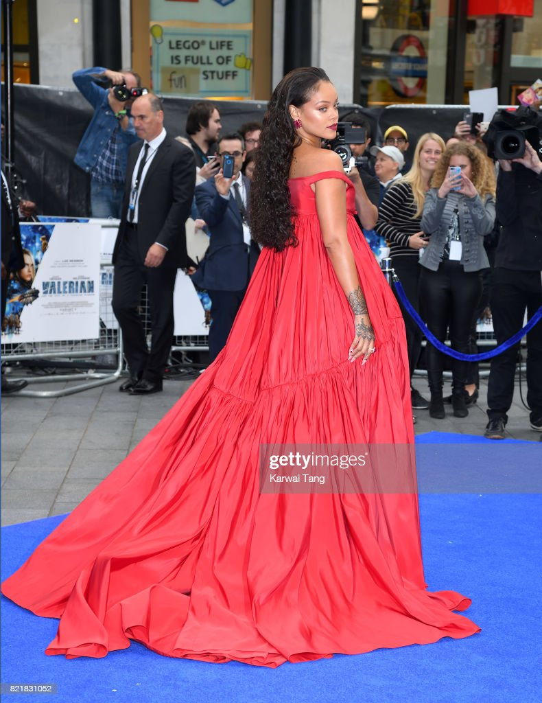 """""""Valerian And The City Of A Thousand Planets"""" European Premiere - Red Carpet Arrivals : News Photo"""