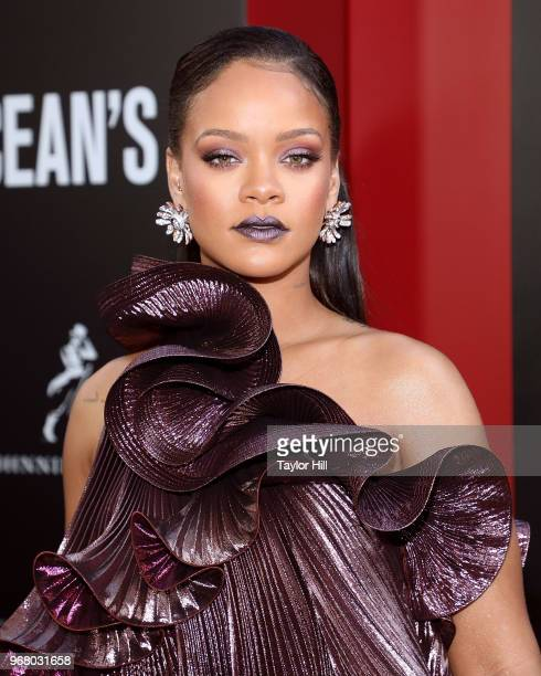 Rihanna attends the world premiere of Ocean's 8 at Alice Tully Hall at Lincoln Center on June 5 2018 in New York City