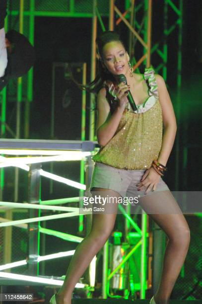 Rihanna, Best New Artist Video during MTV Video Music Awards Japan 2006 - Show at Yoyogi National Stadium in Tokyo, Japan.