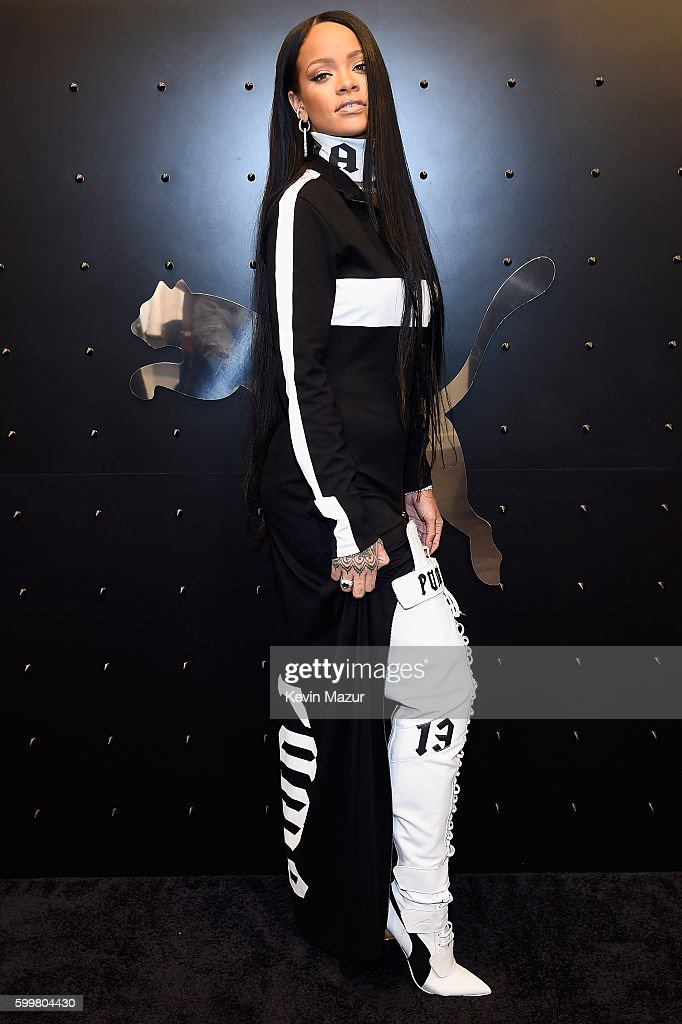 Rihanna Celebrates The Opening Of The FENTY PUMA By Rihanna Pop-Up Shops Powered By SIX:02