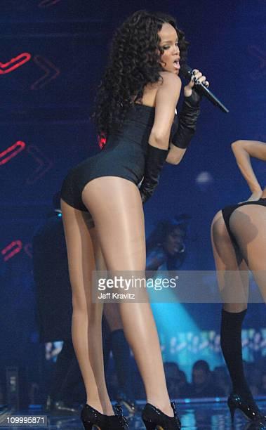 Rihanna during 2006 MTV European Music Awards Copenhagen Show at Bella Centre in Copenhagen Denmark
