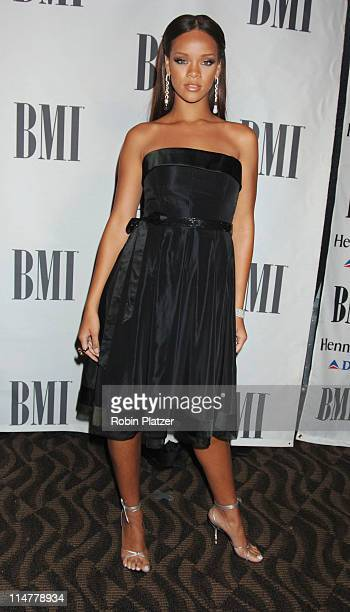 Rihanna during 6th Annual BMI Urban Awards Arrivals at Roseland Ballroom in New York City New York United States