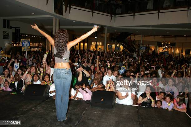 Rihanna during Def Jam and FYI Present a Rihanna Live Performance and Autograph Sighing April 25 2006 at FYI Gardens Mall in Elizabeth New Jersey...