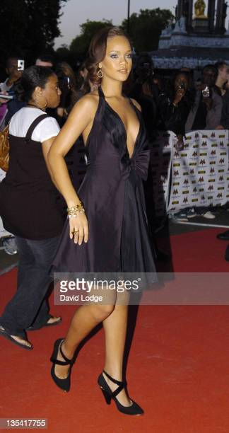 Rihanna during MOBO 2006 Awards Arrivals at The Royal Albert Hall in London Great Britain