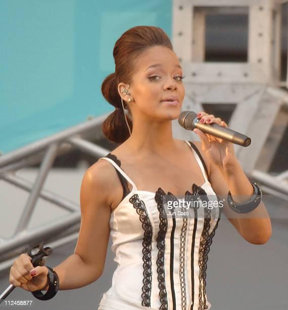 Rihanna during MTV Video Music Awards Japan 2006 - Red Carpet Live at Yoyogi National Stadium in Tokyo, Japan.