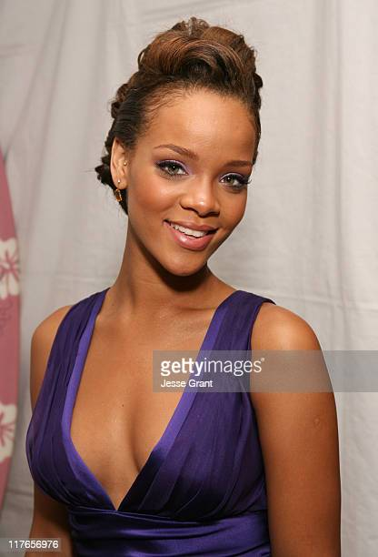 Rihanna during My Scene Fab Faces Dolls Celebrity Retreat Produced by Backstage Creations at the 2006 Teen Choice Awards Day 2 at Gibson Amphitheatre...