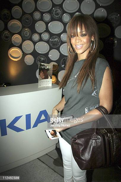 Rihanna during Nokia and Def Jam Presents NeYo Album Release Party at Vice Roy Hotel in Los Angeles California United States