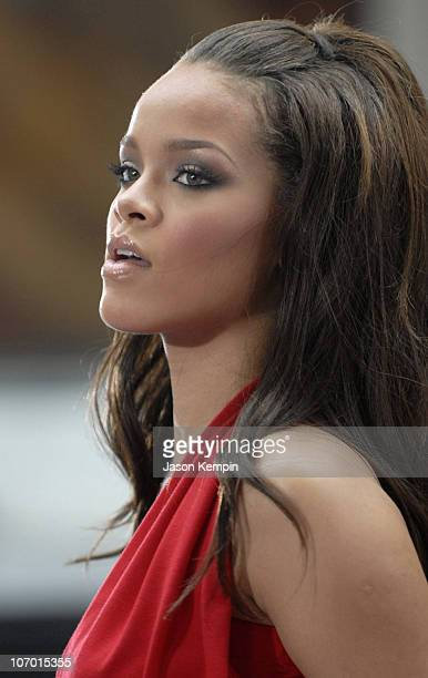 Rihanna during Rihanna Performs On The Today Show July 2006 at Rockefeller Center in New York City New York United States